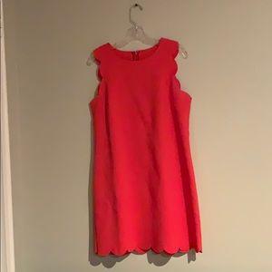 J.CREW scallop dress